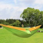 Portable One Person Parachute Nylon Fabric Hammock  for Outdoor Travel Camping