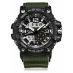 Sanda 740 5321 Luminous Double Movement Men Watch  		Watch Men Waterproof / Digital Watch