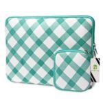 EPGATE 15-inch Portable Fashionable Laptop Protective Bag  with Power Adapter Case