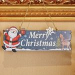 Christmas Pendant Welcome Board Door Decoration