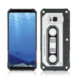 Ultra-thin Nostalgic Tape Style Phone Case for Samsung Galaxy S8 Plus