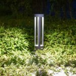 JIAWEN Simple Modern Outdoor Waterproof Lawn Lamp LED Aluminum Garden Light AC 85 – 265V