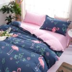 Fashion Bird Pattern Personalized Polyester Bedding Set