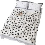 Double Plush Blanket with Wave Point Thickening