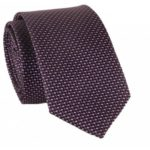 Male Checked Little Dots Pattern Necktie