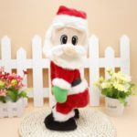 Electric Santa Claus with Music for Christmas Decoration