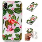 Flamingos Soft TPU Silicone Case Cover for iPhone X