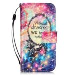 Stars Dreamcatcher Pattern PU Leather Flip Wallet Case for iPhone 7 / 8