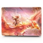 Computer Shell Laptop Case Keyboard Film for MacBook New Pro 15.4 inch 3D Touch 2016 Flaming Phenix