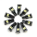 Sencart 10Pcs T10 Super Bright 5730SMD Chipset LED Bulbs for Car Interior Dome DC 12V