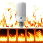 YWXLight E27 Fire Flame LED Bulb Fire Effect lamp Novelty  Christmas AC 200 – 240V