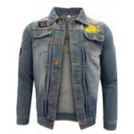 Autumn Europe and The United States Men'S Casual Washing Denim Jacket