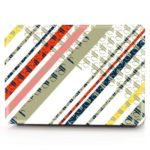 Computer Shell Laptop Case Keyboard Film for MacBook Air 11.6 inch 3D Colorful Geometric Shapes