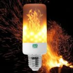 YWXLight E27 LED Flame Effect Light Bulb AC 85 – 265V