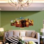 God Painting High Definition Spray Picture  		Living Room Decoration / Lion Pattern