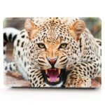 Computer Shell Laptop Case Keyboard Film for MacBook Pro 15.4 inch 3D Wild Leopard