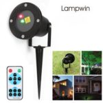 lampwin® Outdoor Red and Green Dynamic Firefly Laser Projector & Starry Laser Lawn Light, with Remote Controller,Multi-mode Optional,Timing Functions,IP65 Waterproof, For Patio, Lawn, Gardens, Holiday