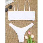 Scrunch High Cut Thong Bikini Set