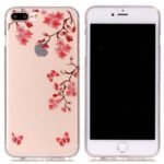 Maple Leaf Ultra Thin Slim Soft TPU Silicone Case for iPhone 7 Plus / 8 Plus