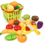 House Small Basket Fruits Toy