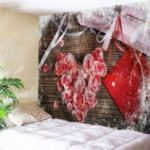 Wall Hanging Art Flowers and Gift Print Tapestry