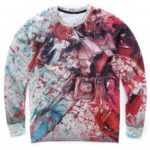 Animated Characters Print 3D Sweatshirt