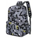 HongJing Fashion Matching Color Large Space Backpack