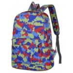 Fashion Hongjing Matching Color Casual Sporting Backpack