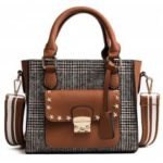 New Tote Bag Trend Lattice Shoulder Bag Handbag