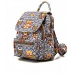 Owl Backpack for Girls Cute Canvas Owl Backpack College Backpack