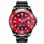TEVISE T801A Men Mechanical Watch  Water-resistant Stainless Steel Strap Date Functio…
