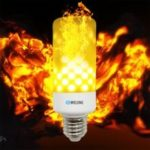 BRELONG LED Flame Light Bulb Emulation Flaming Decorative Lamp – E27
