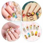 3D nail art 3*50pcs/pack Cute Nail Art Manicure Fimo Polymer Clay Canes Sticks Rods DIY Decoration For Nail Art MR053-3