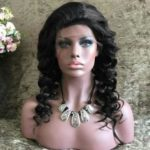 Free Part Long Body Wave Lace Front Synthetic Wig