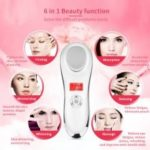 Ultrasonic Cryotherapy Hot Cold Massage Hammer Face Lifting Firming Wrinkle Remover Massager Skin Care Ultrasound Spa Beauty Machine MR140W