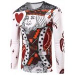 King of Heart Print Tee