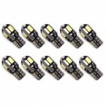 T10 SMD 5630 Car Width / License Plate Lights Bulbs 10pcs