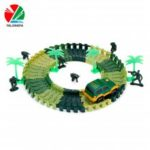 YALONGFA NO.358 48PCS DIY Racing Track Assembly  		Flexible Twister Car Toy