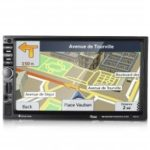 Rectangle 7021G GPS Bluetooth Car MP5 Player  with 720P Camera European Map
