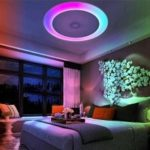 X816Y – 48W – LY – YXAA Music Color Changing Ceiling Light, Smart Bluetooth APP AC 220V