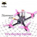 FuriBee Stormer 220mm FPV Racing Drone – BNF  F4 FC with OSD and VTX 3-6S 2308 2200KV Brushless Motor Blheli-S 35A ESC