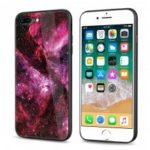 leeHUR Dirt-proof Cover for iPhone 7 Plus / 8 Plus  		Starry Sky Pattern