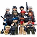 Minifigures Sluban Building Blocks Educational Kids Toy 12 Models Assorted Police Set