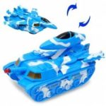 Electric Military Tank Fighter Toy with Lights and Sounds