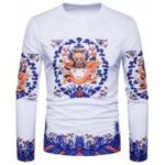 Dragon Print Long Sleeve T-shirt