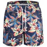 Pockets Floral Swim Trunks