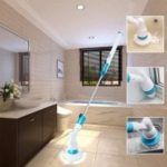 HESSION Rechargeable Cordless Floor Cleaner Brush