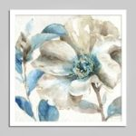 E – HOME 17070701 Framed Flower Print Home Decoration