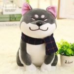 Akita Dog Doll Soft Stuffed Toy Pillow Ornament Gift 1pc