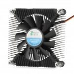 Ultra-thin Copper Core CPU Cooler Cooling Fan  		2500RPM